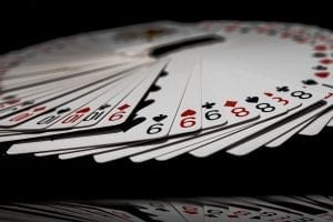 chinese poker player is dealt chinese poker