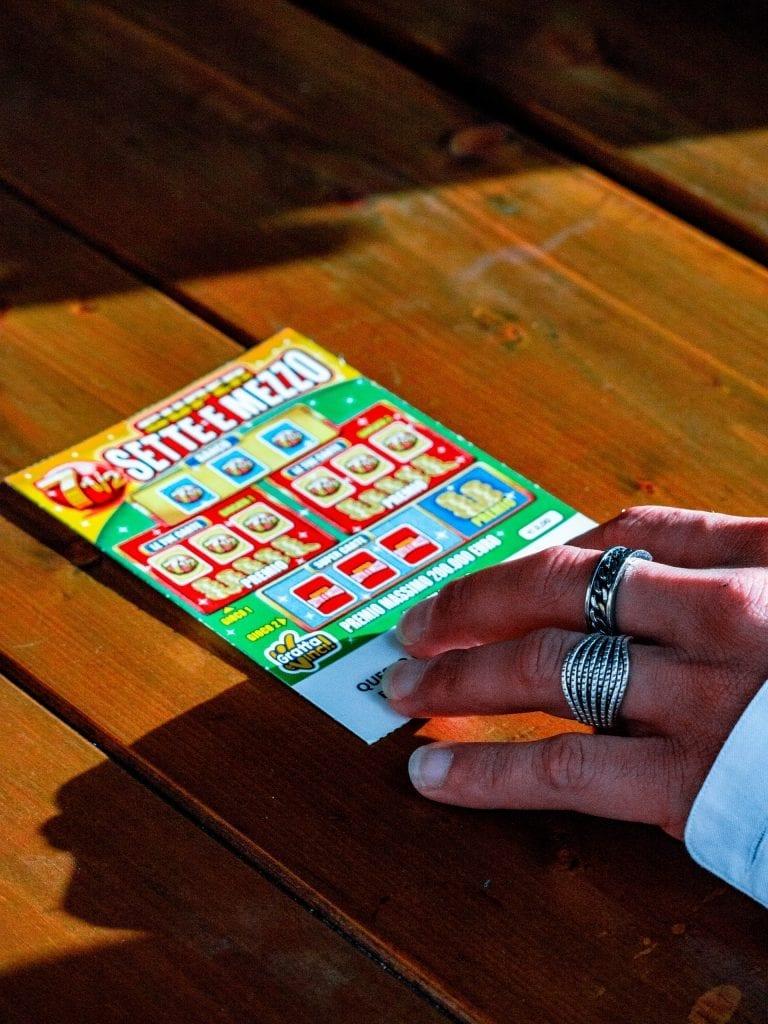 scratch card game